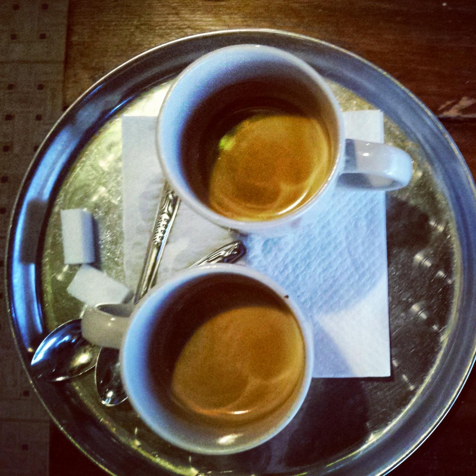 Marokkaanse Koffie nog niet zo verkeerd