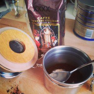 Koffiemolen thuis gebruiken