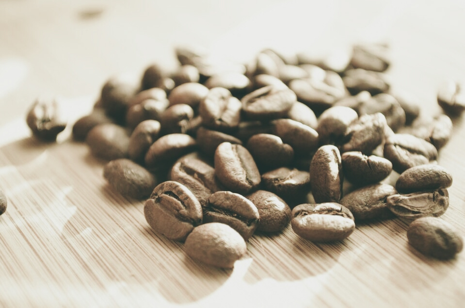 koffiebonen - zelfkoffiezetten