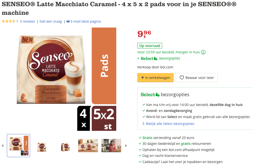 SENSEO® Latte Macchiato Caramel