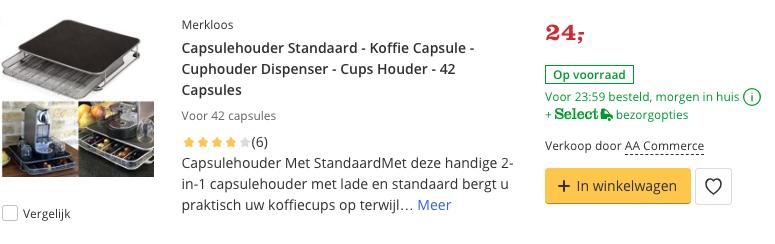 Beste Capsulehouder Standaard - 42 Capsules Top 2 review