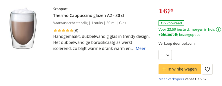 Top 5 Thermo Cappuccino glazen A2 - 30 cl review