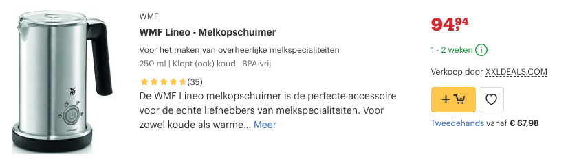 Top 4 WMF Lineo - Melkopschuimer review