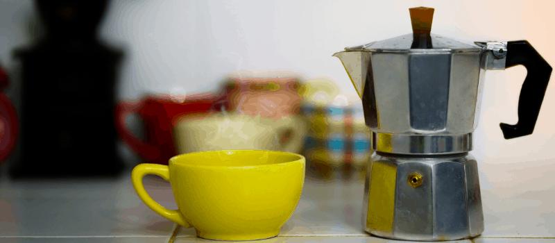 Koffie zetten onder druk