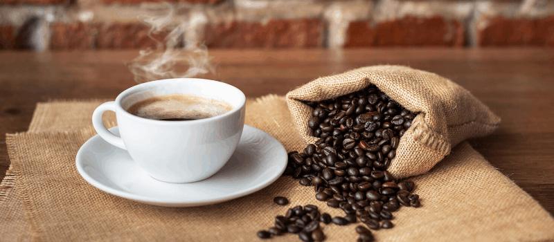 Hele koffiebonen