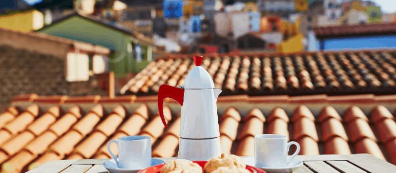 Hoe drinkt men in Italië koffie