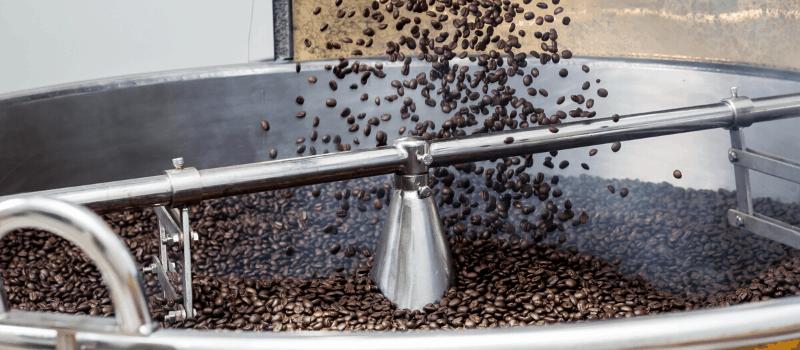 Hoe zien verse koffiebonen er uit